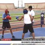 Box: Ricardo Palma ganó festival en evento organizado por IPD