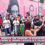 """Orquesta """"Son Tentación"""" en desacuerdo con mural de Yahaira Plasencia en el Callao"""