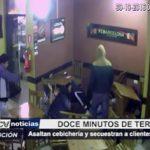 Trujillo: Asaltan cebichería y secuestran a clientes y empleados