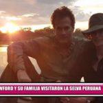 Cindy Crawford y su familia visitaron la selva peruana