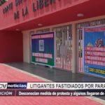 Trujillo: Litigantes fastidiados por paro de trabajadores del Poder Judicial