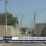 Moche: Delincuentes atemorizan a moradores de Curva del Sun