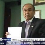 """Marcelo: """"Elidio cree que está en su cuartel"""""""