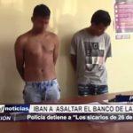 Piura: Policía detiene a sicarios que iban a asaltar el Banco de la Nación