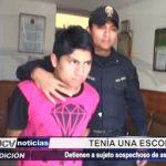 El Porvenir: Detienen a sujeto armado con escopeta después de asaltar a taxista