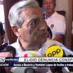Trujillo: Elidio Espinoza denuncia conspiración contra su gestión
