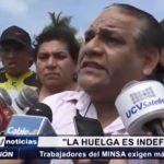 Trujillo: Huelga indefinida de trabajadores del MINSA