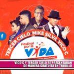 Vico C y Tercer Cielo se presentarán de manera gratuita en Trujillo