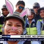 Trujillo: Gerente de Transporte MPT evita responder sobre fiesta en local edil