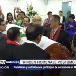 Trujillo: Rinden homenaje póstumo a fiscal asesinado por sicarios