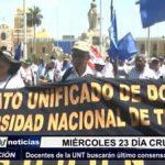 Trujillo: Docentes de la UNT buscarán último consenso con el MINEDU