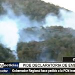 Chiclayo: Gobernador Regional pide declaratoria de emergencia ante incendio forestal