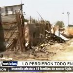 Piura: 15 familias fueron las afectadas y lo perdieron todo en incendio