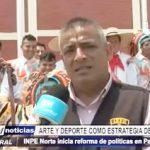 Trujillo: Arte y deporte en penal El Milagro INPE inicia reforma penitenciaria