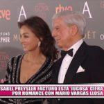 "Isabel Preysler facturó esta ""jugosa"" cifra tras iniciar romance con Mario Vargas Llosa"