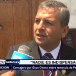 Trujillo: Consejero por Gran Chimú sobre renuncia de Penagos y Celis a APP