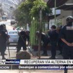 La Esperanza: Desalojan a comerciantes por obstruir vía pública