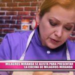 """Milagros Miranda se alista para presentar """"La cocina de Milagros Miranda"""""""