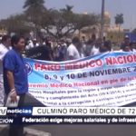 La Libertad: Culminó paro médico de 72 horas exigiendo mejoras salariales y de infraestructura