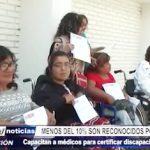 Trujillo: Capacitan a médicos para certificar discapacidad en hospitales