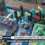 Trujillo: Informales ofrecen todo tipo de productos pirotécnicos en Eguren