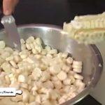 Preparación del Pastel de choclo