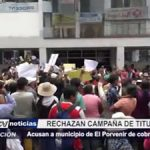 El Porvenir: Acusan a municipio de cobros excesivos en campaña de titulación