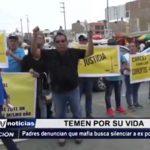 Trujillo: Padres denuncian que mafia busca silenciar a ex policía detenido