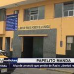 Trujillo: Alcalde anunció que predio de Radio Libertad regresa a la Municipalidad