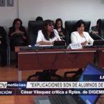 Presidente de la Comisión de Salud del Congreso critica a representantes de DIGEMID y SuSalud