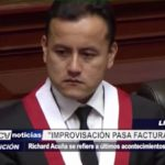 """Richard Acuña: """"Improvisación pasa factura a PPK"""""""
