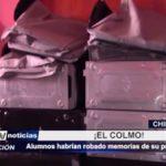Chimbote: ¡El colmo! Alumnos habrían robado memorias de su propio colegio