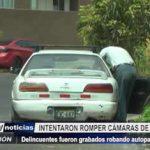 Trujillo: Delincuentes fueron grabados robando autopartes de vehículo