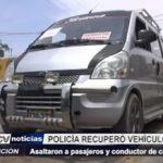 Virú: Delincuentes asaltaron a pasajeros y a conductor de colectivo