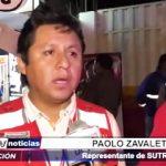 Trujillo: Sutran en contra del transporte informal