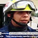 Chiclayo: Topos internacionales capacitan a personal contra siniestro