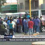 Trujillo: Transportistas paralizarán este jueves