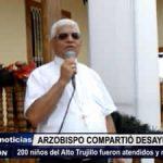 Trujillo: 200 niños de Alto Trujillo fueron atendidos y recibieron regalos