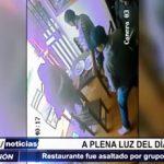 """Trujillo: A plena luz del día comerciantes fueron asaltados en restaurante por """"marcas"""""""