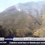 Trujillo: Colectivo social CODEBO realiza cruzada para damnificados por incedios