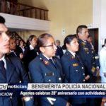 La Libertad: Benemérita Policía Nacional del Perú celebra 28° aniversario