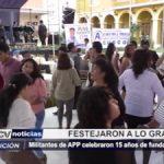 Trujillo: Militantes de APP celebraron 15 años de fundación política