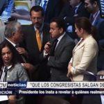 """Pedro Pablo Kuczynski: """"Que los congresistas salgan del clóset"""""""