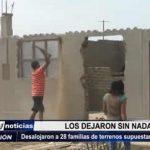 Víctor Larco: Desalojaron a 28 familias de terrenos supuestamente usurpados