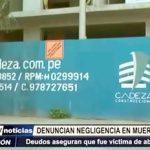 Trujillo: Deudos aseguran que fue víctima de abuso laboral