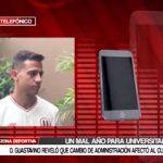 Universitario: Gustavino reveló que cambio de administración afectó al club