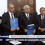 Trujillo: UNT firma convenio de cooperación con CONCYTEC