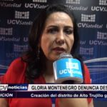Trujillo: Gloria Montenegro denuncia discriminación a proyectos de ley