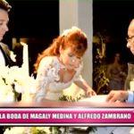 Así fue la boda de Magaly Medina y Alfredo Zambrano