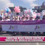 Christian Meier ironizó la Marcha por el Orgullo Heterosexual